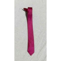 Cravate soie sauvage Violette