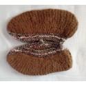 Chaussons en laine de Yack